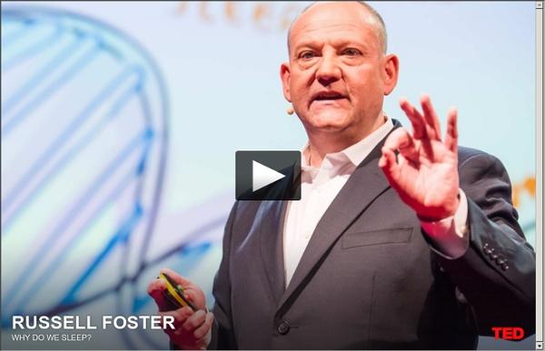 Russell Foster: Pourquoi dormons-nous ?