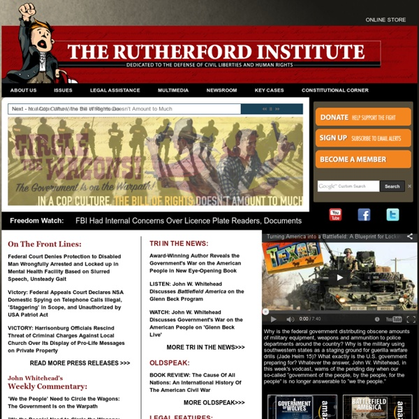 The Rutherford Institute
