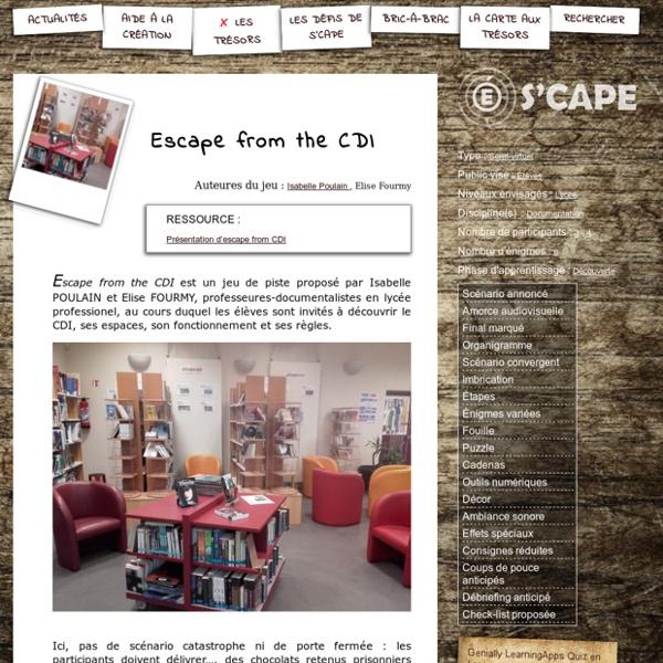 S'CAPE-Escape from the CDI