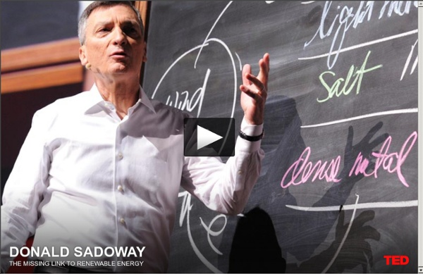 Donald Sadoway: Liquid Battery