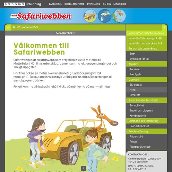 Safariwebben