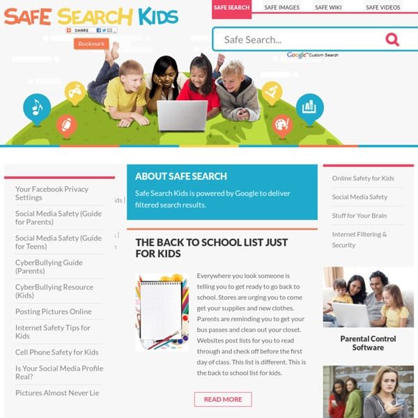 Safe Search for Kids