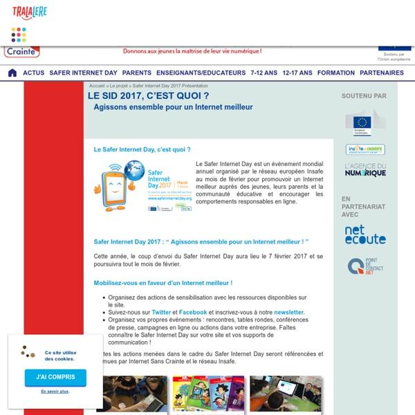 Safer Internet Day 2017 Présentation