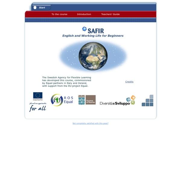SAFIR English