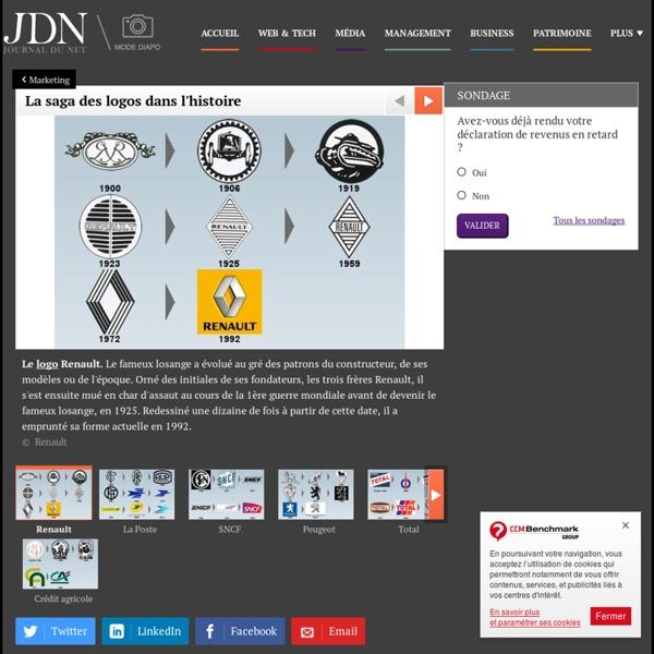La saga des logos dans l'histoire - Journal du Net Management