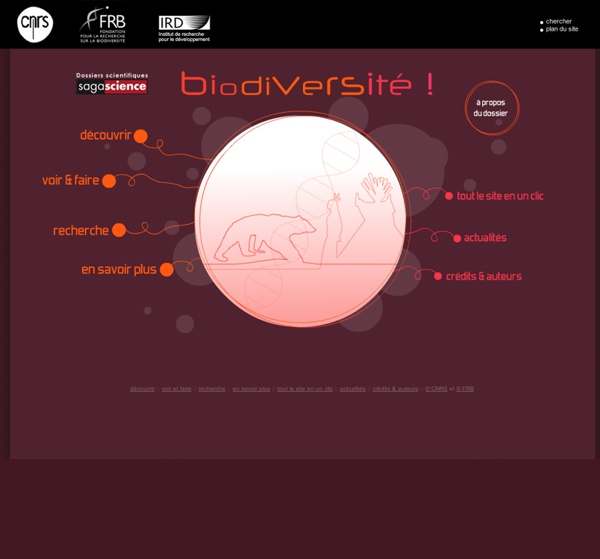 Sagascience - Dossier Biodiversité