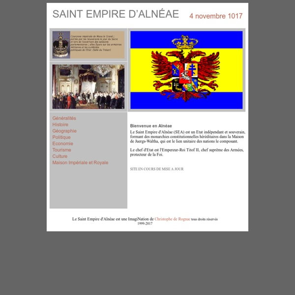 SAINT EMPIRE D'ALNEAE