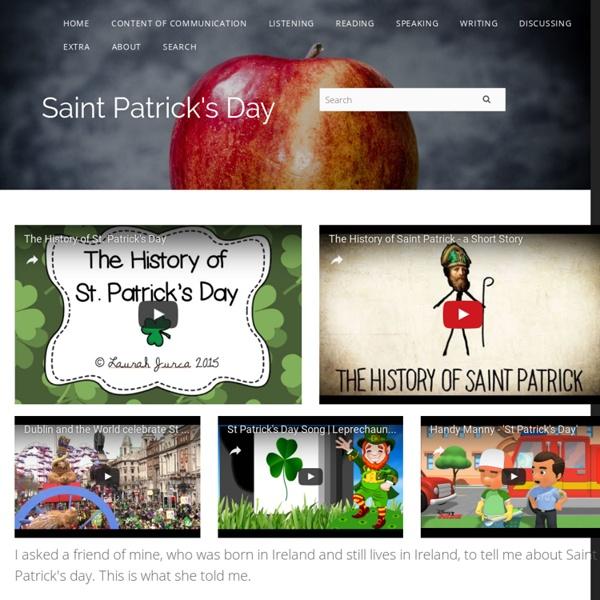 Saint Patrick's Day - Kimstudies