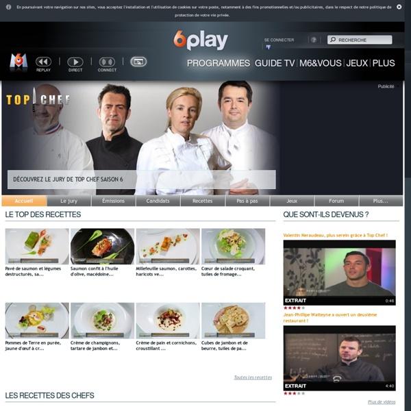 Top Chef 2013 : Retrouvez les recettes, vidéos et photos de l'émission de cuisine M6