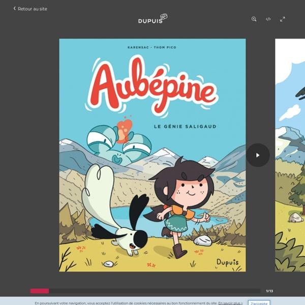 Le Génie Saligaud, tome 1 de la série de bande dessinée Aubépine, de Karensac - Thom Pico -