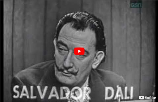 """Salvador Dali on """"What's My Line?"""""""
