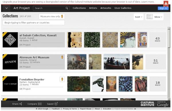 Collecties - Google Cultural Institute