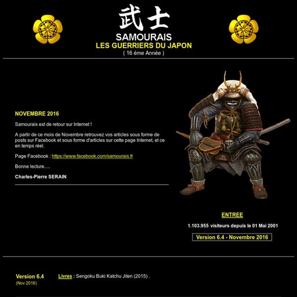 SAMOURAIS - Les Guerriers du Japon