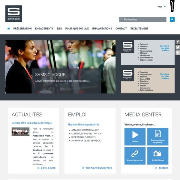 SAMSIC : leader du service aux entreprises en Europe