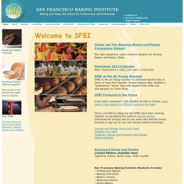San Francisco Baking Institute