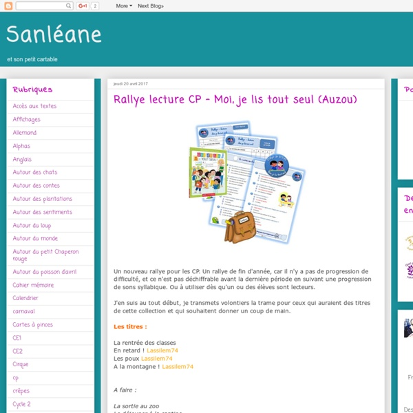 La classe de Sanléane