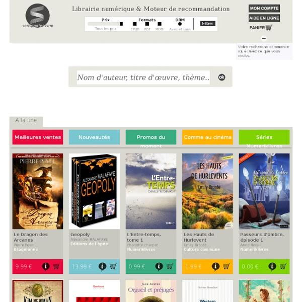 Librairie numérique & Moteur de recommandation