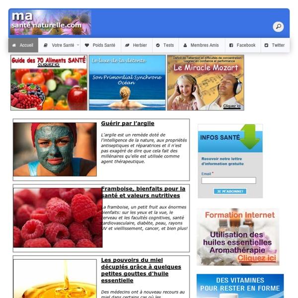 Ma Santé Naturelle: Le site officiel de Ma Santé Naturelle: Naturopathie Contrôle du stress Maigrir