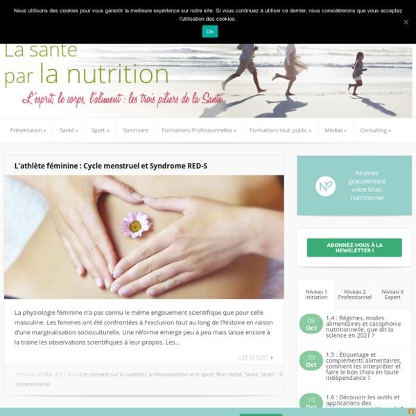 Sante et nutrition