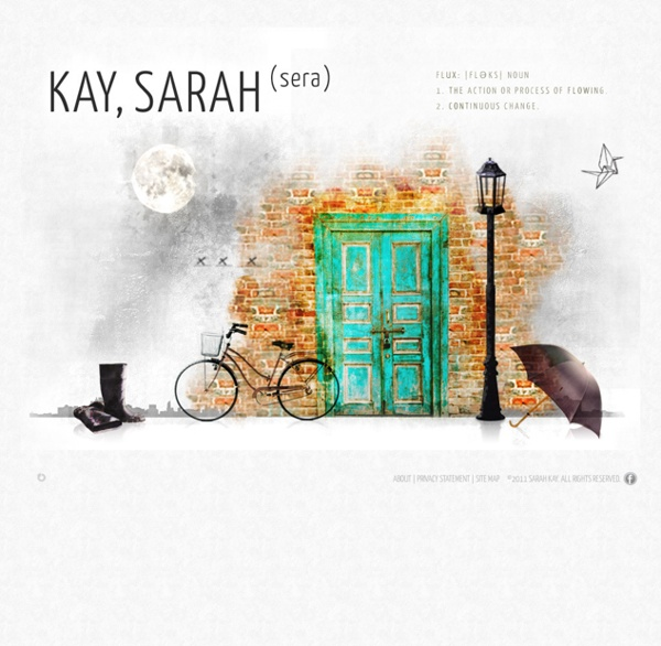 The official website for poet Sarah Kay