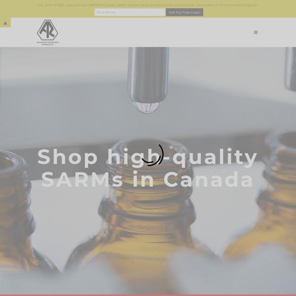 Buy SARMs in Canada — AdvancedResearch.bio™