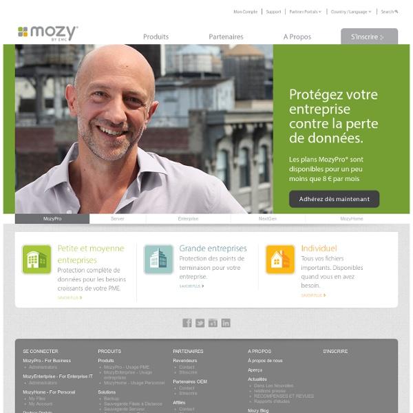 Mozy – Sauvegarde en Ligne Sure, Sécurisée, Abordable
