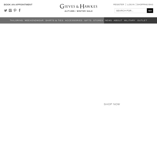Savile Row Tailors, Mens Suits, Gieves & Hawkes Savile Row Tailoring - Gieves & Hawkes