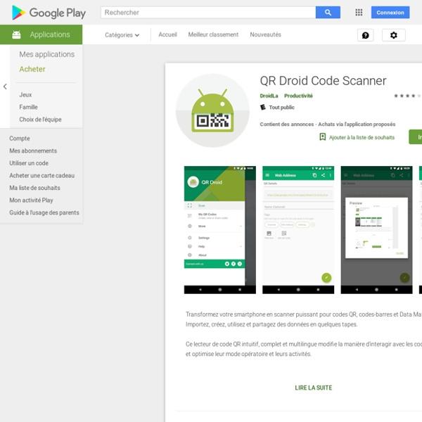 QR Droid (Polski) - Aplikacje w Android Market