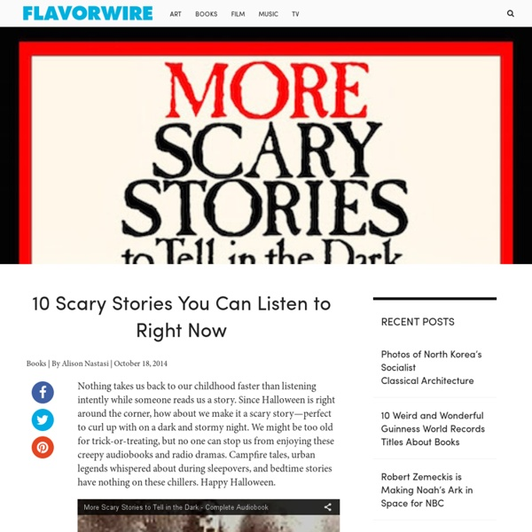 10 Scary Stories You Can Listen to Right Now
