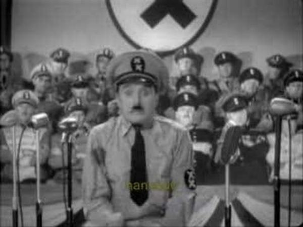 """Chaplin - """"le Dictateur"""" extraits"""