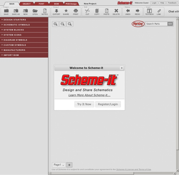 Free Online Schematic Drawing Tool