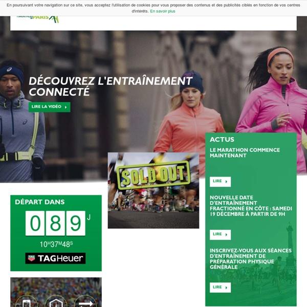 Marathon de Paris - Accueil