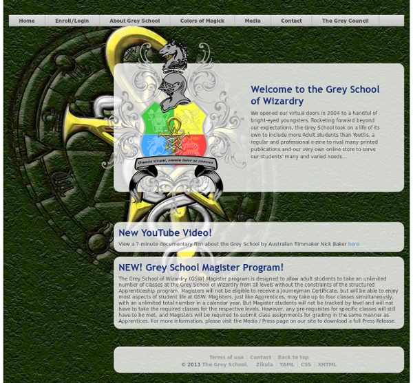Online Magickal Education for Youths and Adults