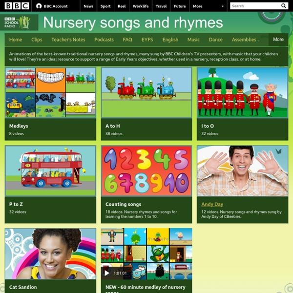 School Radio - Nursery songs and rhymes
