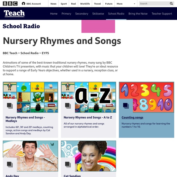 School Radio - Nursery songs and rhymes
