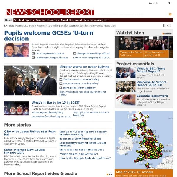 Home - BBC School Report
