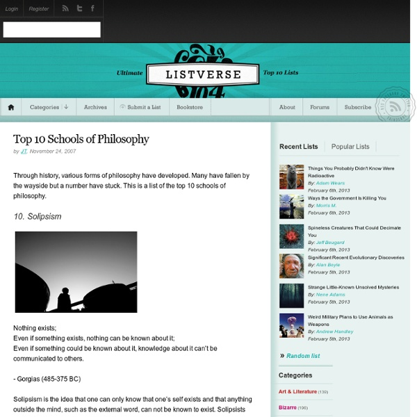 Philosophy top 10 colleges in the us