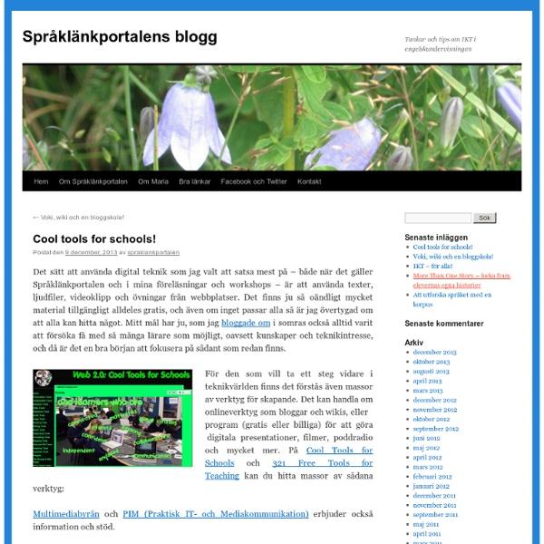 Språklänkportalens blogg