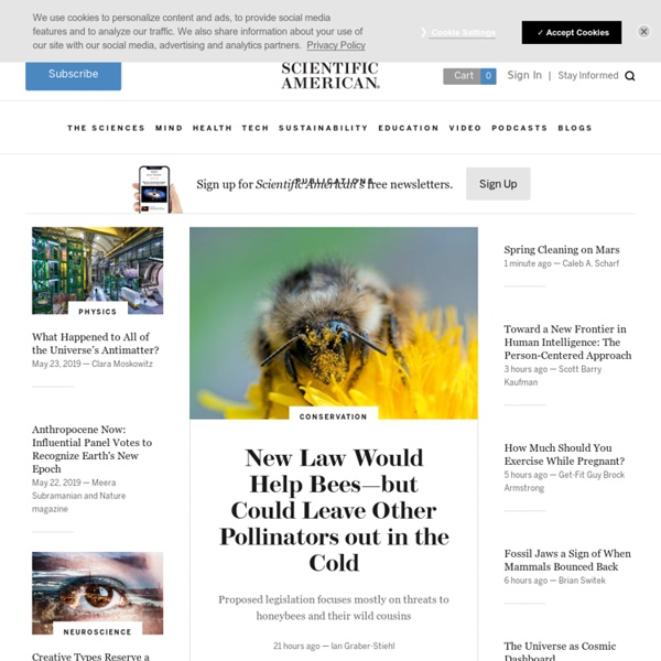 Science News, Articles and Information