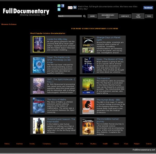 Science Documentary Films