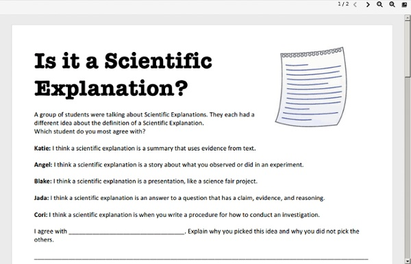 FA: Is it a Scientific Explanation?