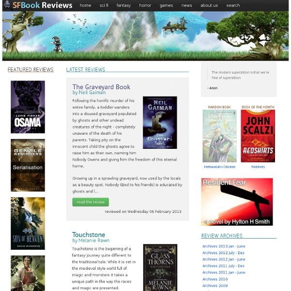 Science Fiction and Fantasy Book Reviews