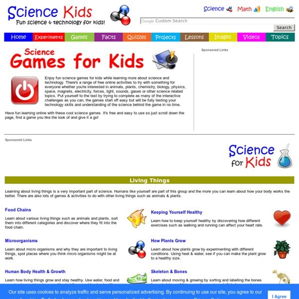 free online learning games for science