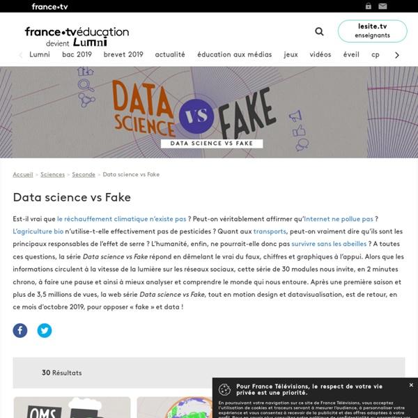 Data science vs fake - Programme