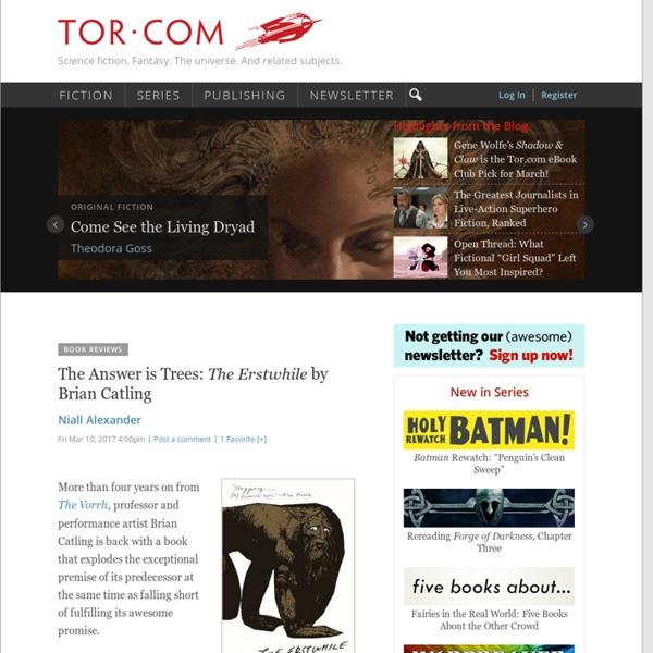 Tor.com - Science fiction & Fantasy Blog, Books, Stories, News, Forum