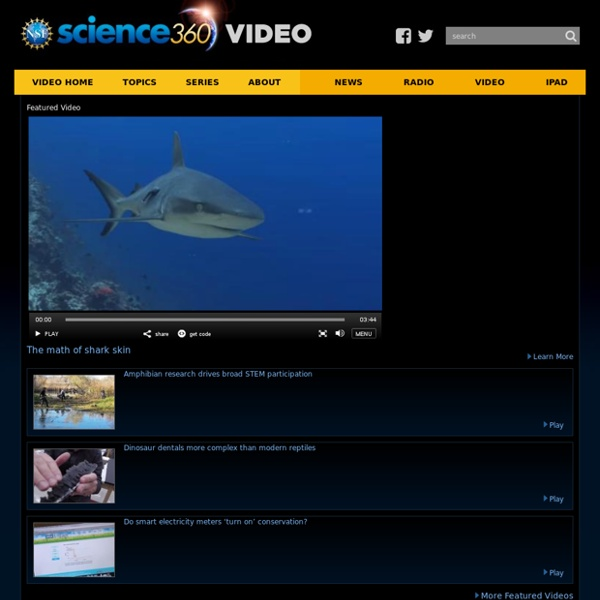 Science 360 Video Library
