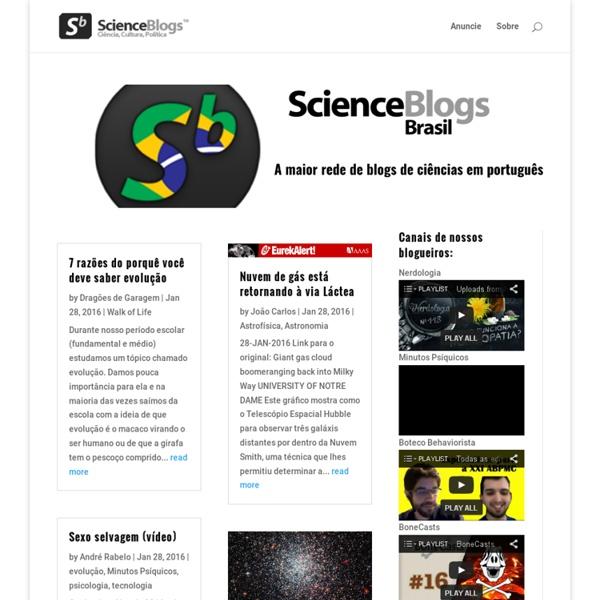 ScienceBlogs Brasil – Blogs de Ciência