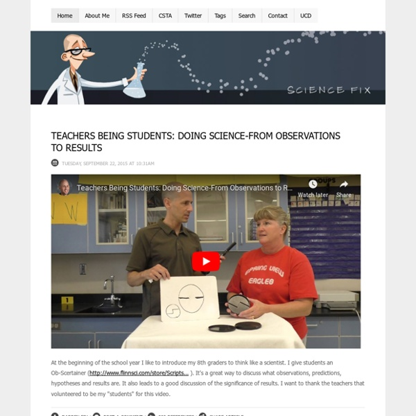 ScienceFix - Science Fix