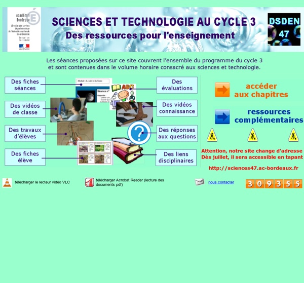 Sciences à l'école IA47-ASTEP
