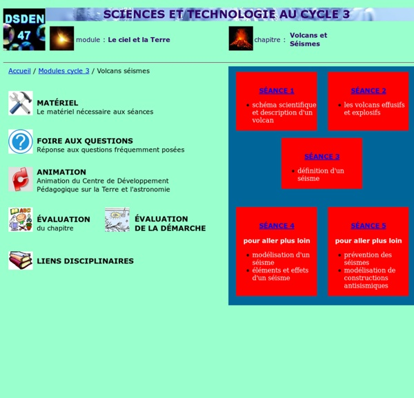 Sciences à l'école IA47-ASTEP